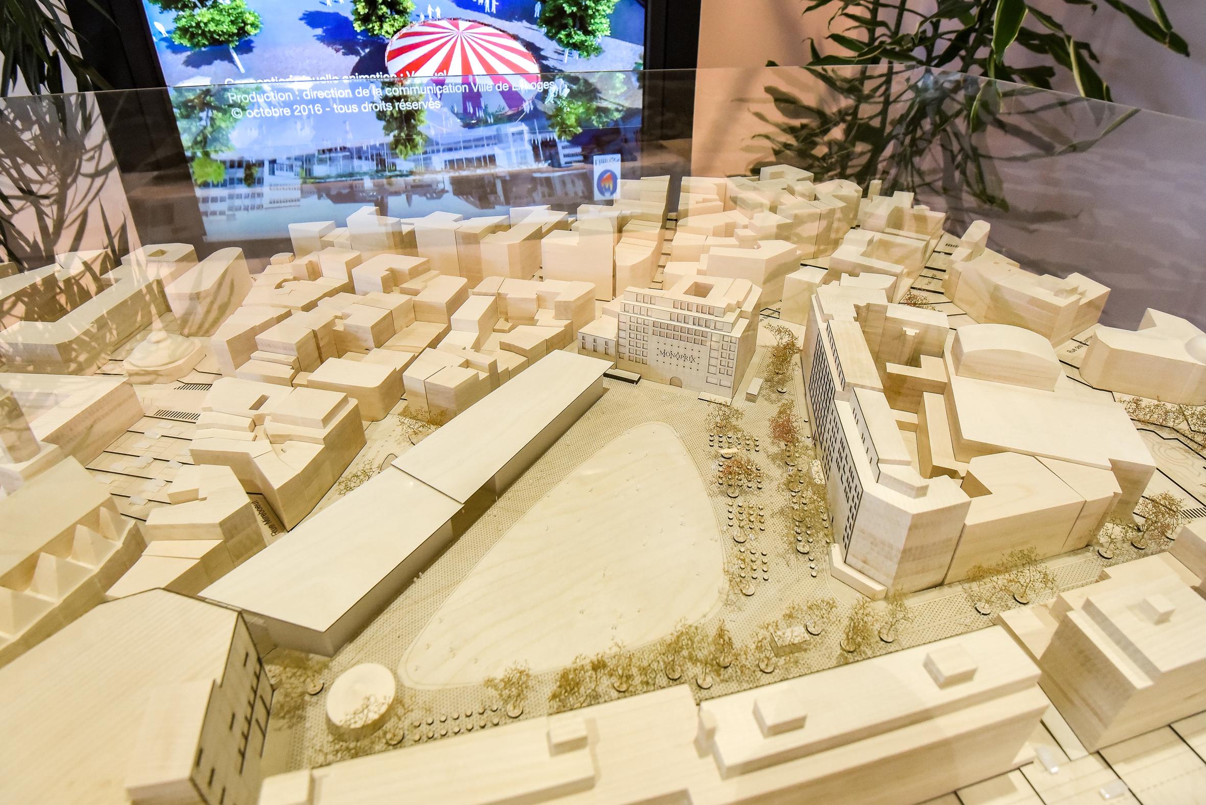 Venez découvrir la maquette de votre future place de la République !